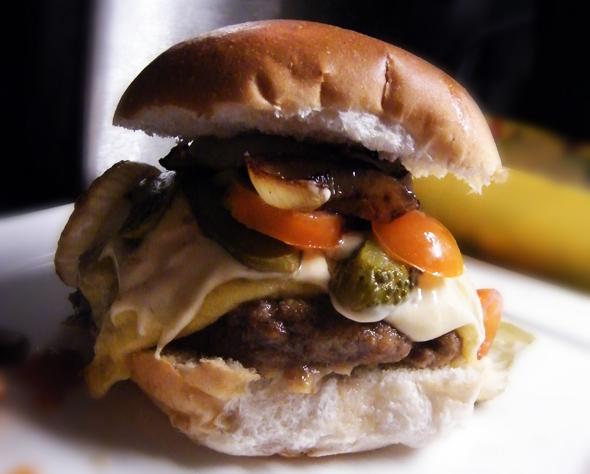 zelfgemaakte hamburgersaus