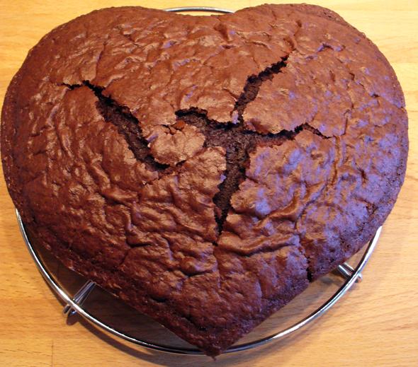 luchtige chocoladecake