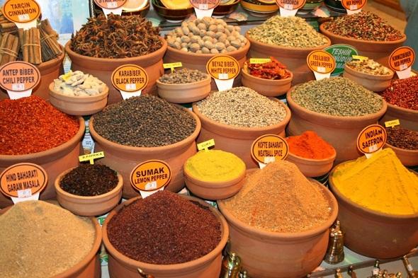 belangrijkste kruiden turkse keuken