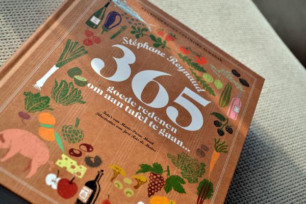 365 goede redenen om aan tafel te gaan