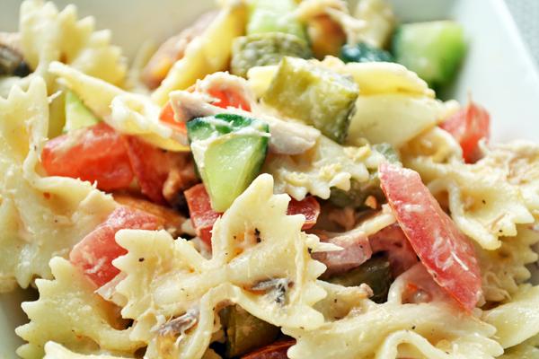 maaltijdsalades recepten pasta