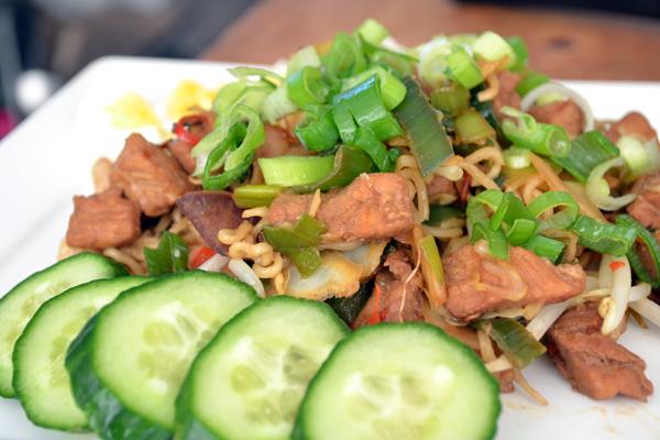 Supersnelle Thaise woknoodles