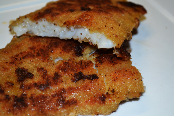 recept vis bakken in de pan