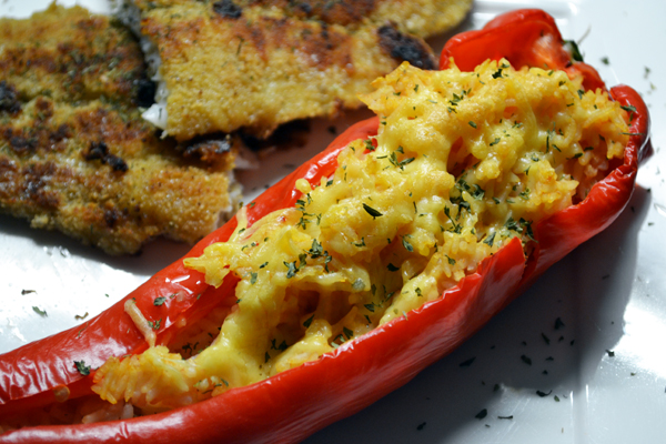 puntpaprika recept vegetarisch