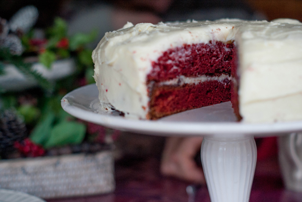 Oh So Red Velvet cake