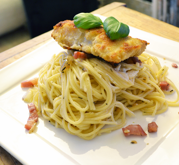 recept kabeljauw pasta