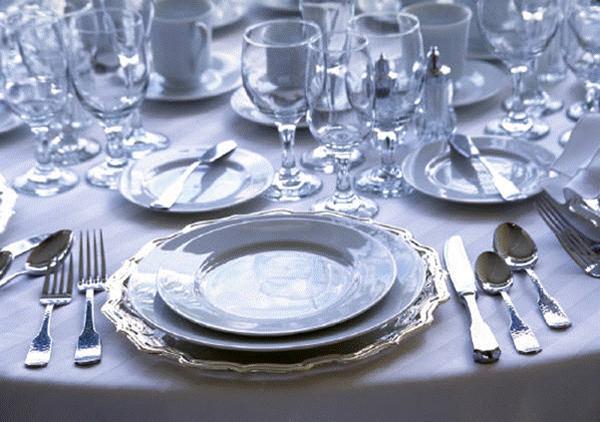 tafelschikking volgens de etiquette