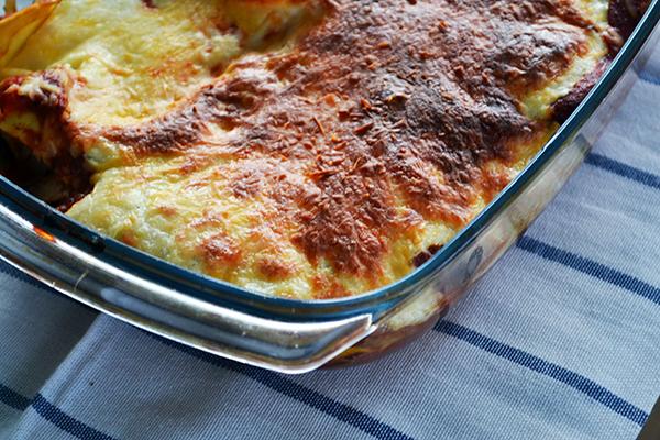 Paddenstoelen Lasagne