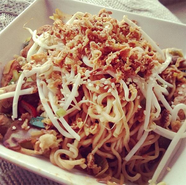 thaise woknoodles