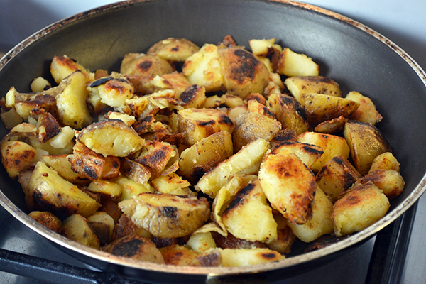 aardappels koken en bakken