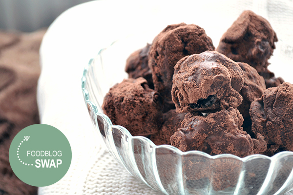 oreo cheesecake truffels