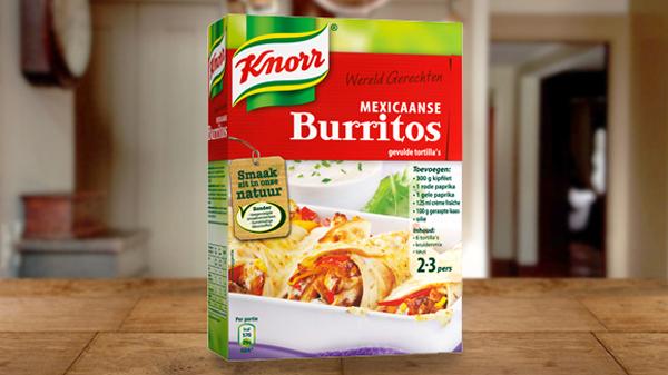 Knorr burritos