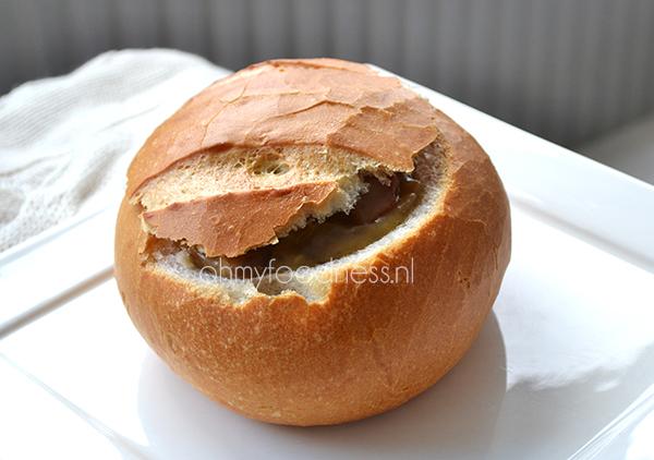 champignon chorizo ragout