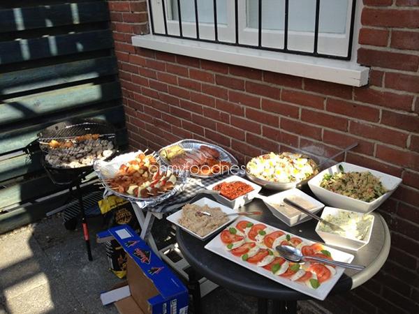 verjaardagsbarbecue