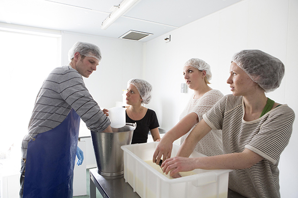 WSPA workshop kaas maken