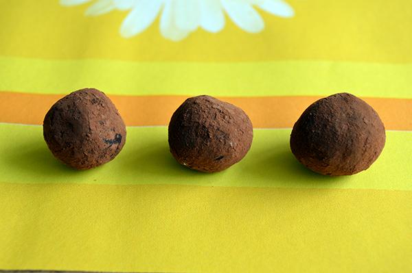 pure chocoladetruffels
