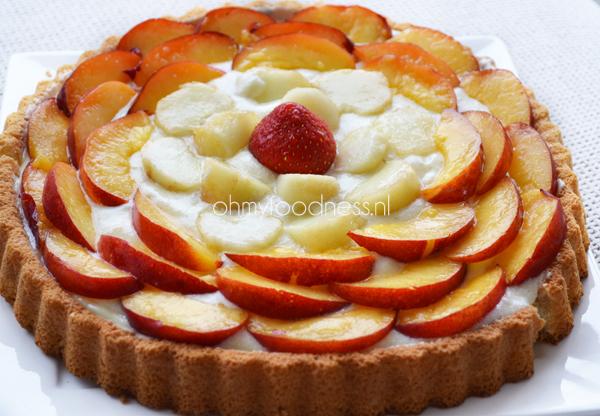 fruit taart simpel
