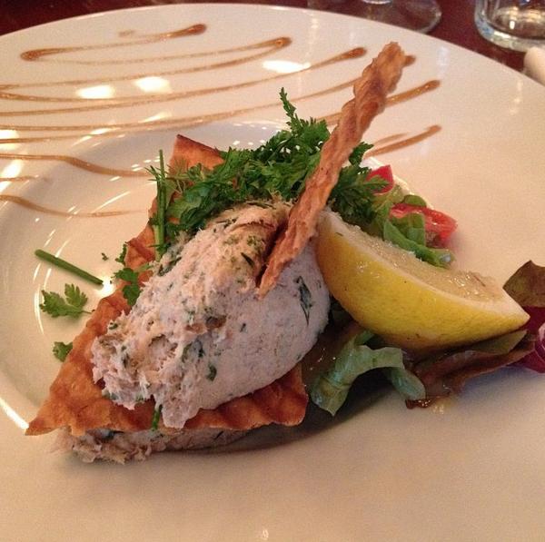 rilette van gestoomde makreel