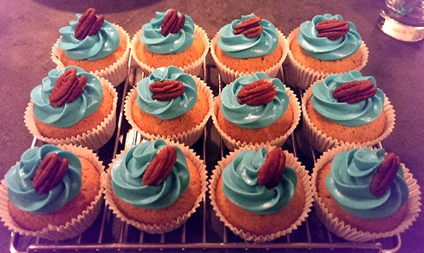 pecannoten cupcakes met monchou