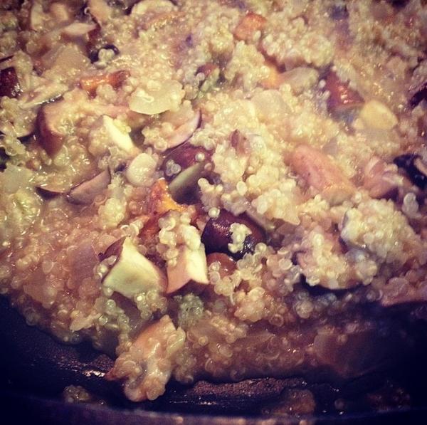 risotto van quinoa