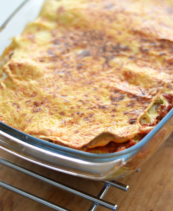 lasagne met vegagehakt