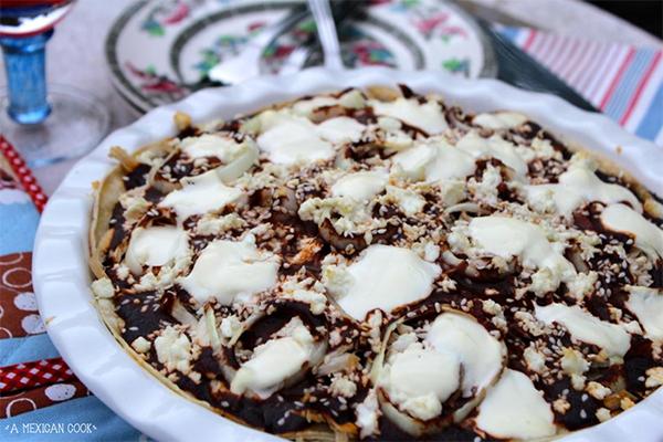 mexicaanse mole taart