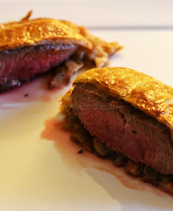 Beef Wellington - OhMyFoodness