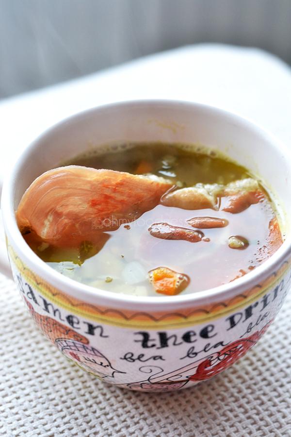 minestrone met parmaham