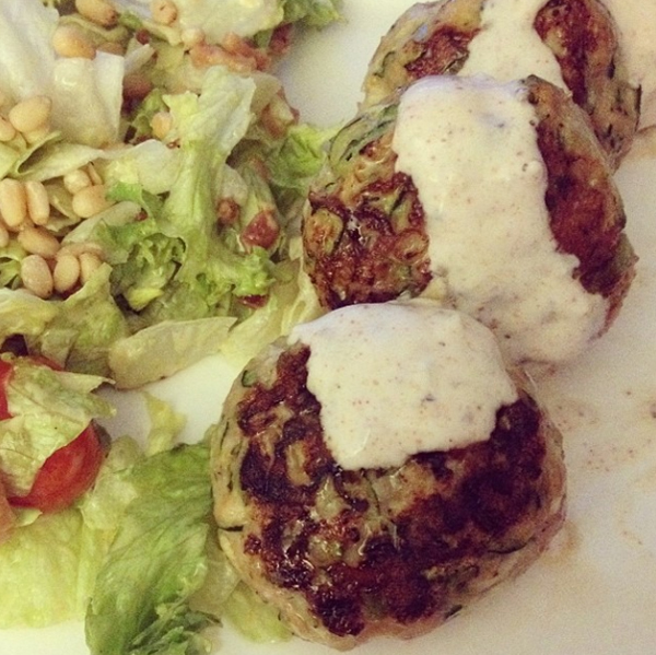 Ottolenghi's burgers