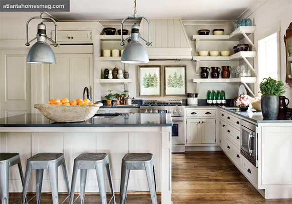 Inspiratie mijn ideale keuken ohmyfoodness for Country industrial kitchen designs