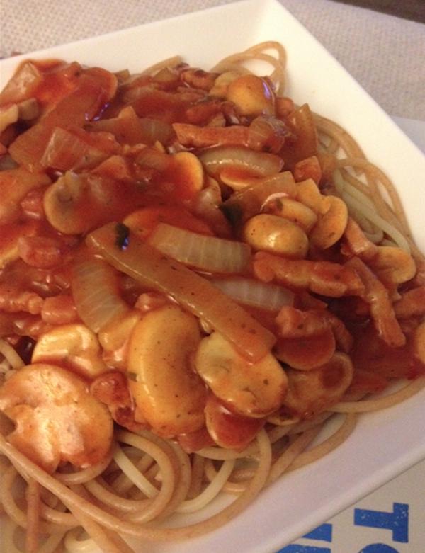 old school spaghetti