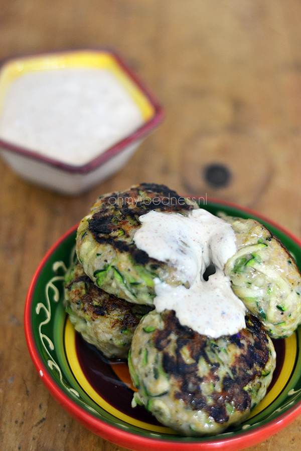 Ottolenghi's kip-courgetteburgers