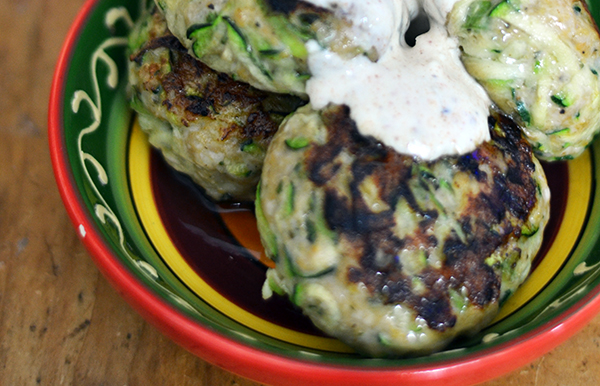 Ottolengh's kip-courgetteburgers
