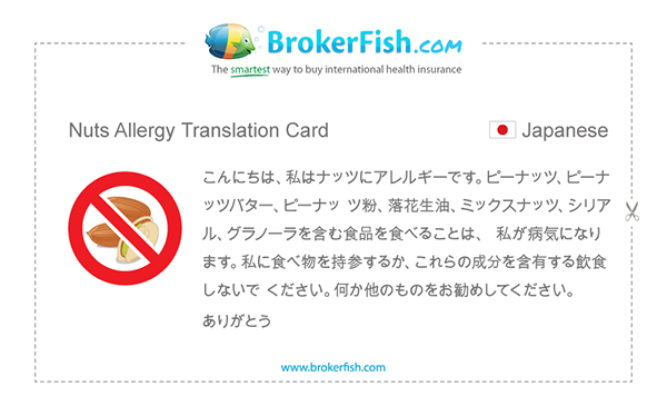 Allergiekaartje