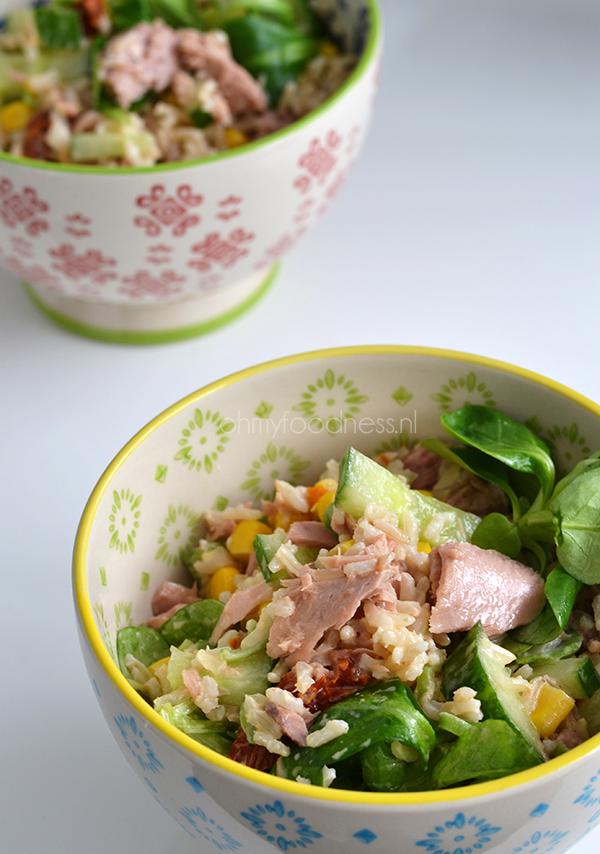 rijstsalade met tonijn 2
