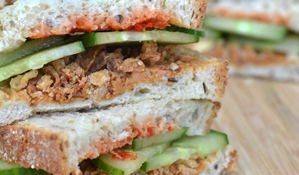 gado gado sandwich