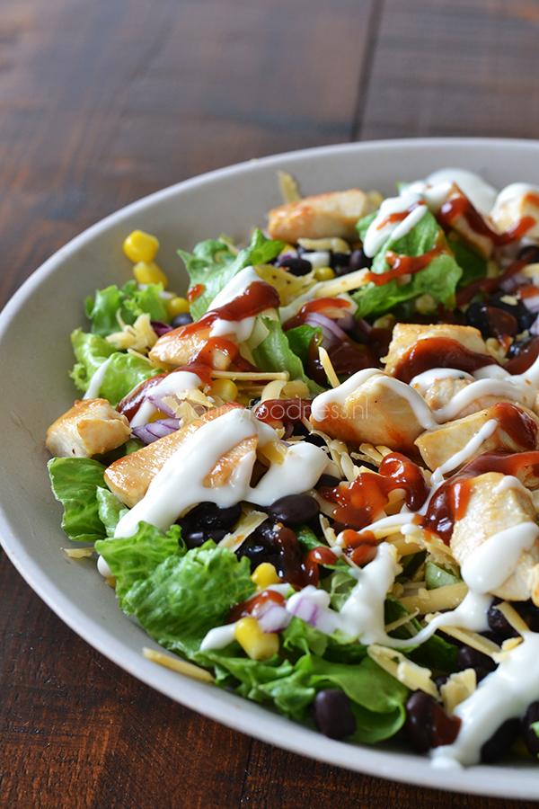 recepten salades voor barbecue
