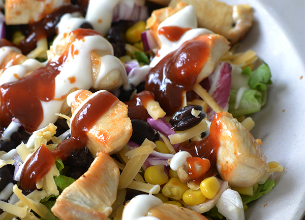 BBQ Chicken Salade