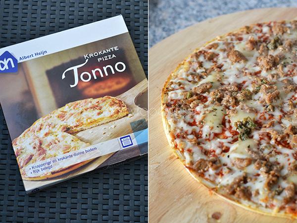 AH Krokante Pizza - Pizza Tonni