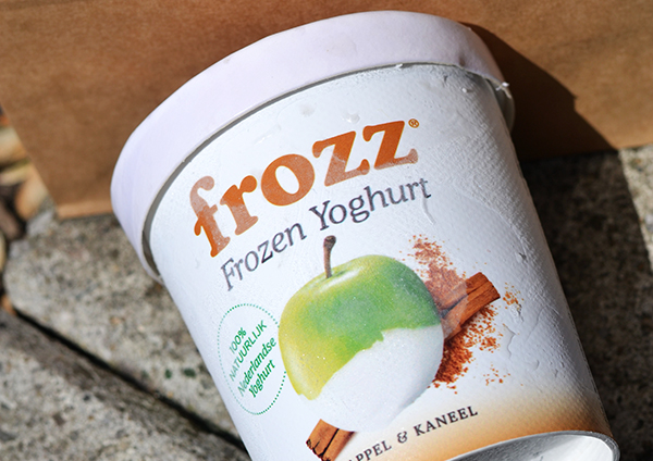 Frozz in de supermarkt