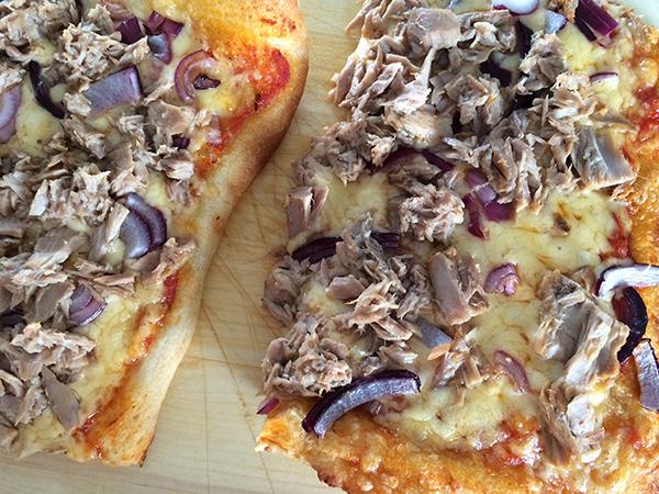 Tonijnpizza