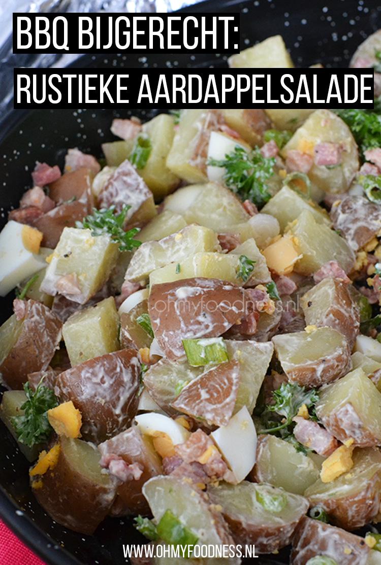 BBQ bijgerecht: rustieke aardappelsalade