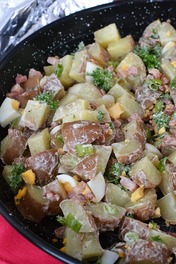 rustieke aardappelsalade