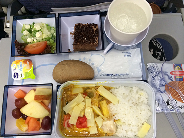 China Airlines eten
