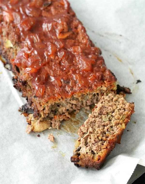 Glutenvrij meatloaf