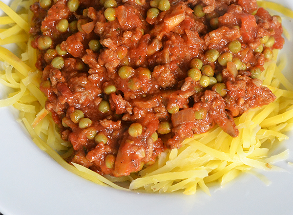 spaghetti van koolraap