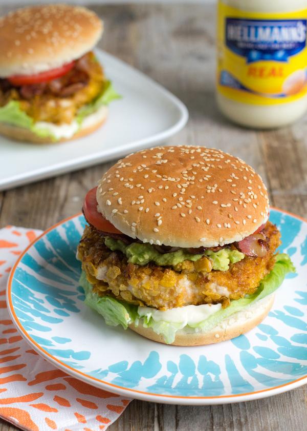 Chicken Burrito Burger