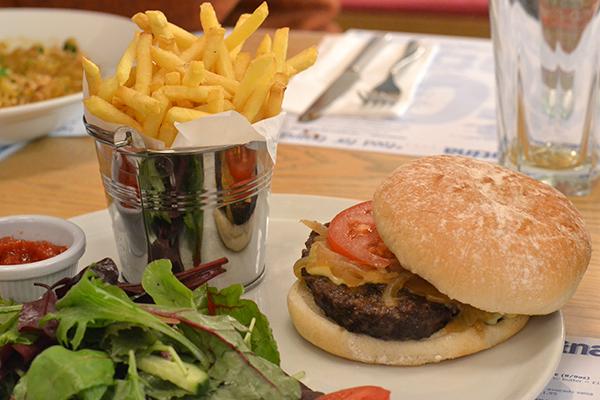 Jersey Beef Burger - El Tico