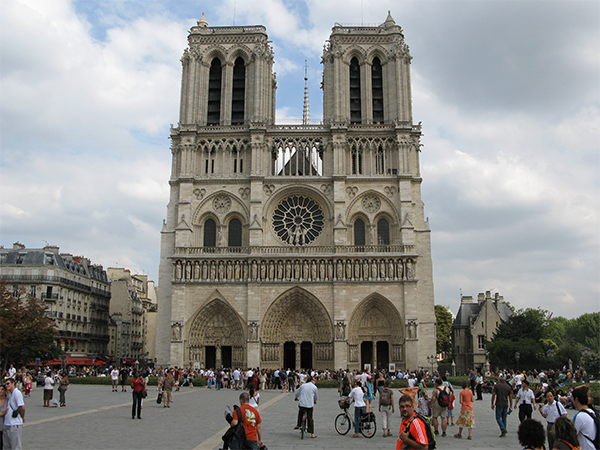 bekende monumenten parijs