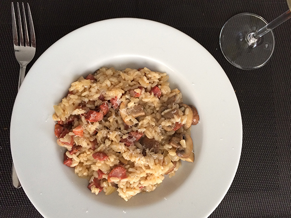 Portugese risotto